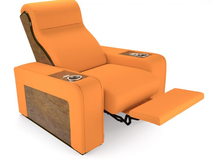 luxury reclining seat for cinema room