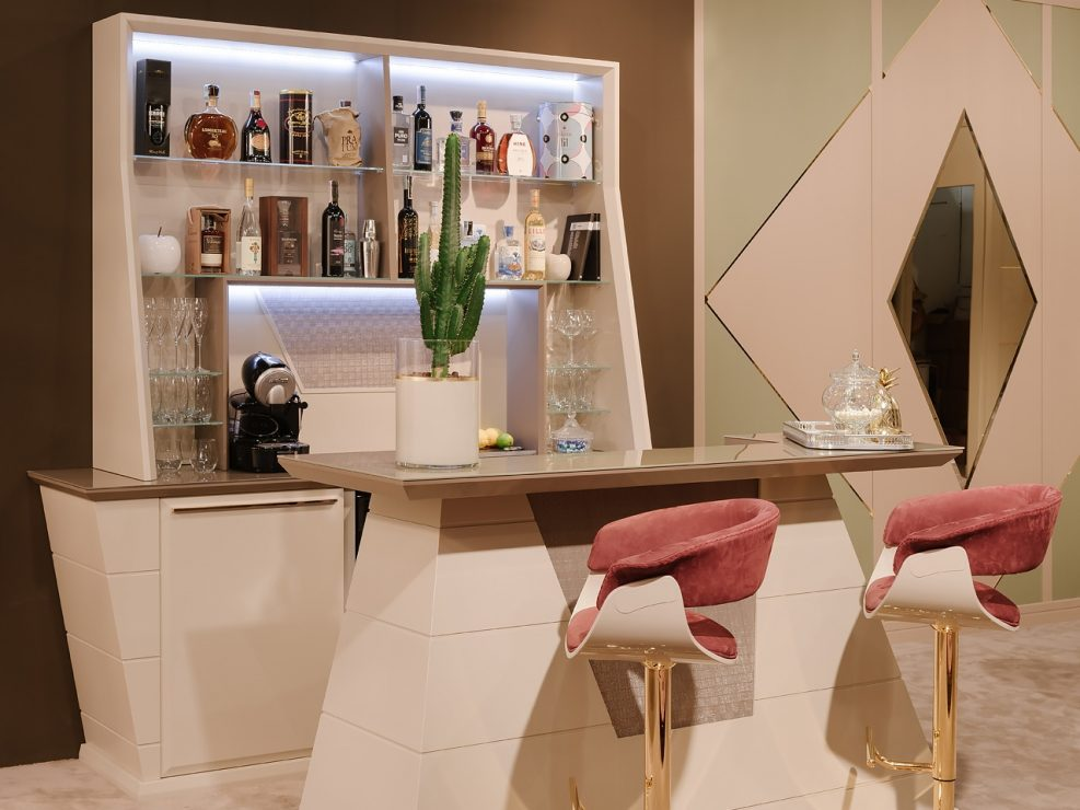 private drink bar produced in italy