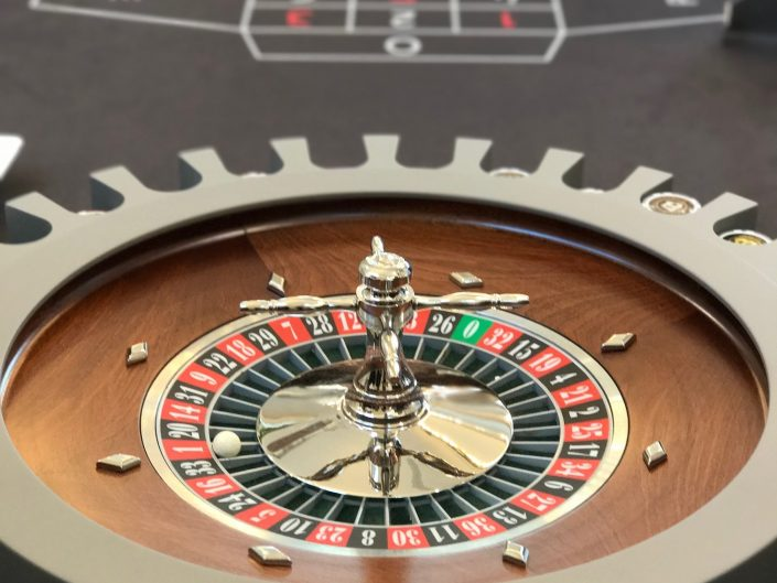 roulette professionale per case private