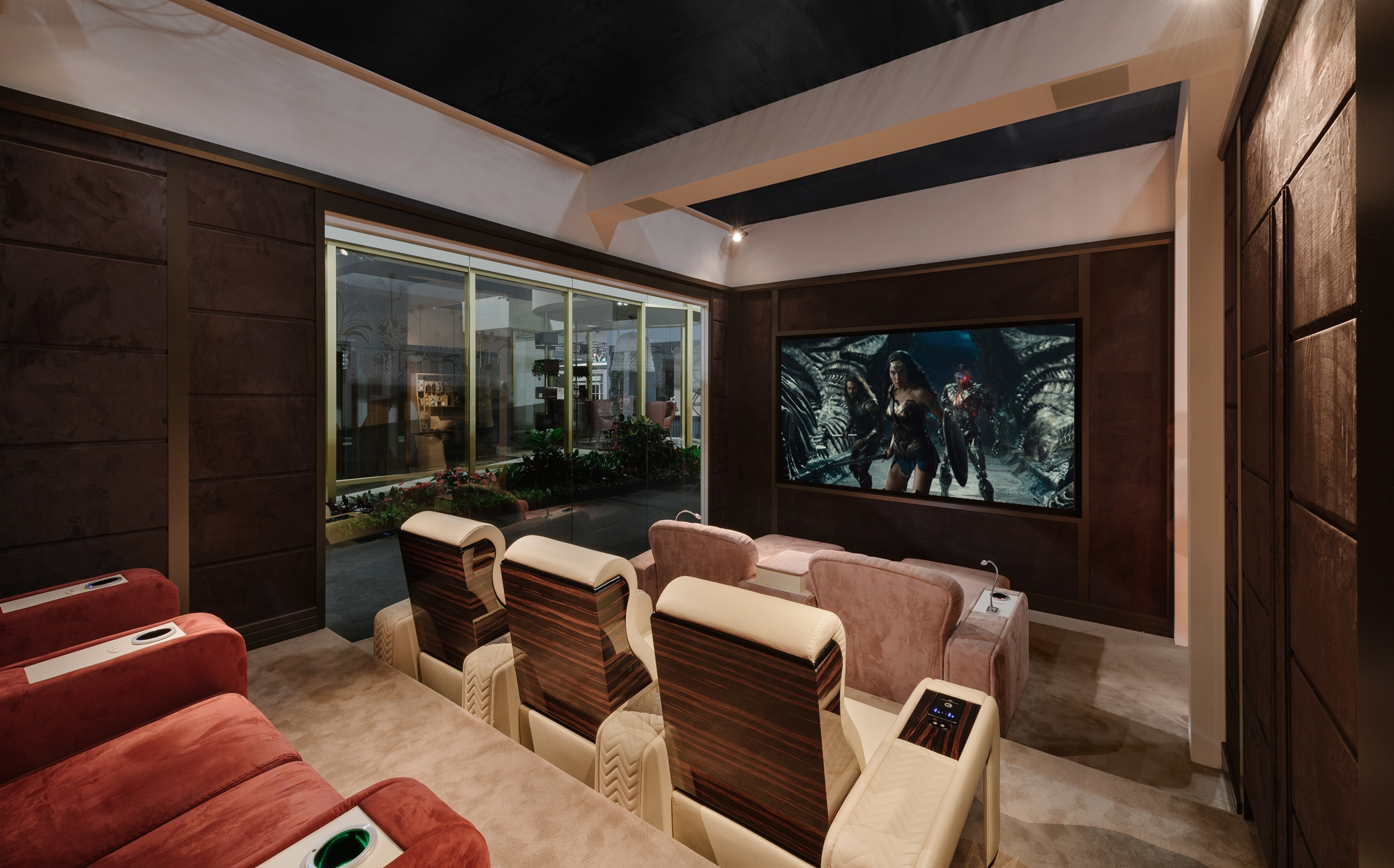 Custom Home Theater Room