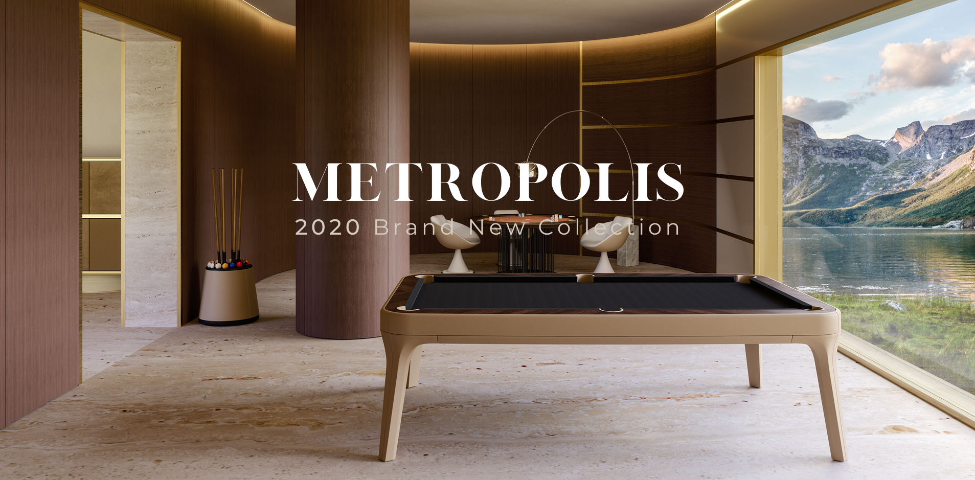 Vismara presents its 2020 new luxury furniture